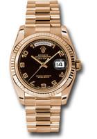 Rolex Watches: Day-Date President Pink Gold - Fluted Bezel - President  118235 bkap
