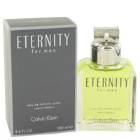 ETERNITY by Calvin Klein Eau De Toilette Spray 3.4 oz
