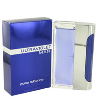 ULTRAVIOLET by Paco Rabanne Eau De Toilette Spray 3.4 oz