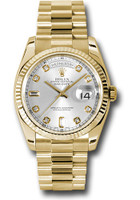 Rolex Watches: Day-Date President Yellow Gold - Fluted Bezel - President 118238 sdp