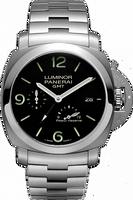 PANERAI LUMINOR 1950 3 DAYS GMT POWER RESERVE AUTOMATIC ACCIAIO PAM00347