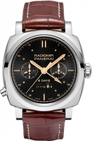 PANERAI RADIOMIR 1940 CHRONO MONOPULSANTE 8 DAYS GMT ORO BIANCO PAM00503