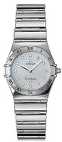 OMEGA  CONSTELLATION White Gold Lady