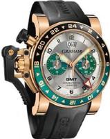 Graham Chronofighteroversize Gmtsilver Brg Gold