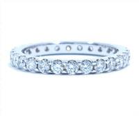 2.10 mm Diamond Ring In Platinum