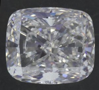 2.51 Carat E/VVS1 Cushion Gia Certified Diamond (ex/ex/gd)
