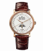 Blancpain Villeret Moonphase Watch 6263-3642A-55