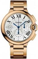 Cartier Ballon Bleu Large Chronograph (RG/Silver/