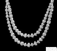 Ziva Antique Design Diamond Necklace