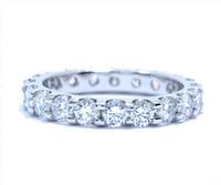 1.68 cttw Diamond Ring In Platinum