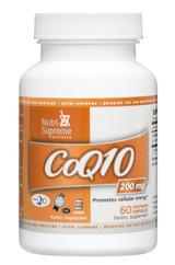 CoQ10 200 mg- 60 capsules