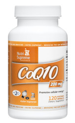 CoQ10 200 mg- 120 capsules
