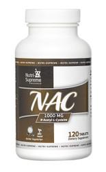 NAC Tablets (N -Acetyl-L- Cysteine)  1000 mg