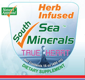 TRUE HEART Herb Infused South Sea Minerals  100% ocean-derived,