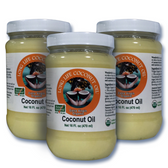 Organic extra virgin coconut oil,  with high tocotrienols (Vitamin E)