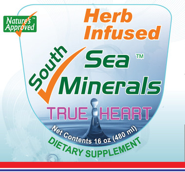 Raw Fresh Hawthorn and papaya extract are infused into the sea minerals mixture.