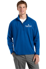 Adult Sport-Wick Stretch 1/2 Zip Pullover