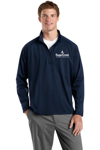 Adult Sport-Wick Stretch 1/2 Zip Pullover