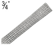 Flat Braided Cable, 0.75 Inch, M-M.75FB