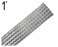 Flat Braided Cable, 1 Inch, M1FB
