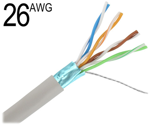 Cat5e 26 awg shielded stranded tinned copper cat5 26 gauge 4 pair unshielded solid tinned copper wiring grey with blue shield m26 keyboard keysfo Gallery