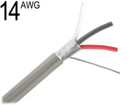 14 AWG Shielded Multi Conductor, 3 Conductor