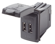 Fast Charge - Dual USB Charger Switch Mount (ES-1039)