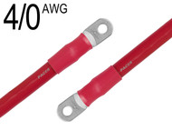 4/0 AWG, Red, Battery Cable Assemblies