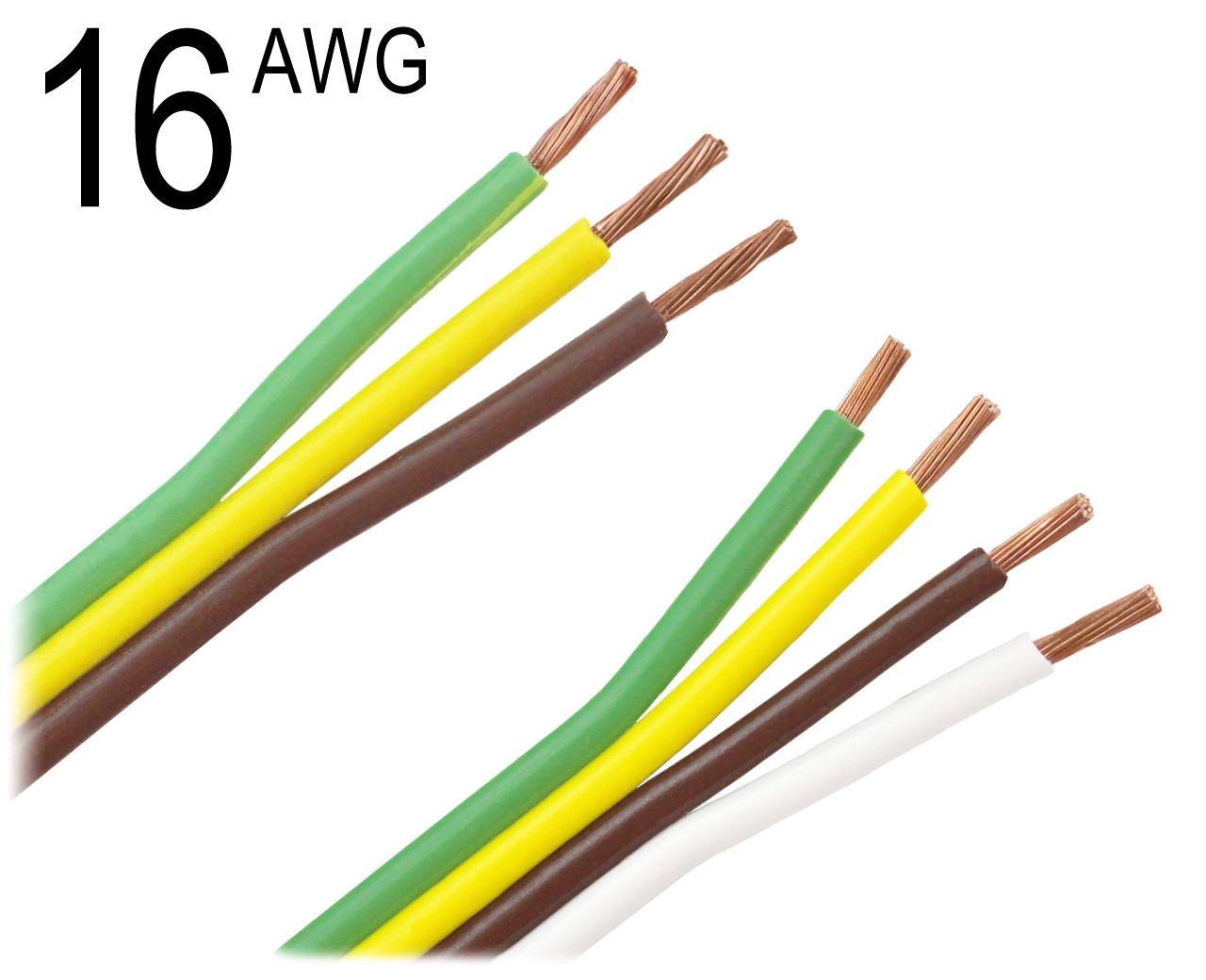 16 Gauge Zip Cord 3 & 4 Conductor