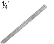 Flat Braided Cable, 1/4 inch (M.25FB)