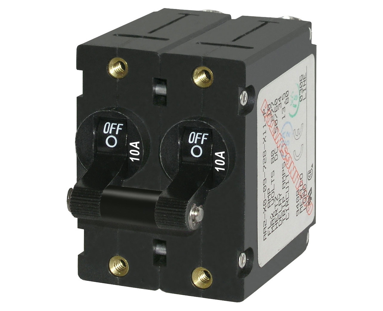 Magnetic Circuit Breakers  A Series  Double Pole  Double Throw