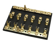 Brass fuse block with independent busbar EFB20-61B
