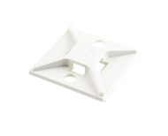 Cable Tie Adhesive Mounts White