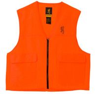 Browning Safety Blaze Overlay Hunting Vest-Blaze Orange-Large (3051000103)
