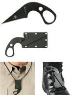 Ka-Bar TDI LDK Law Enforcement Knife-Last Ditch Fixed Blade Knife (1478BP-4)