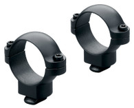 "Leupold Double Dovetail 1"" Medium Height Rings Gloss Black (49894)"
