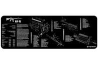 """TekMat AR15-12"""" X 36"""" Rifle/Gun Cleaning Mat (AR15BK)"""