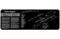 "TekMat Mosin Nagant-12"" X 36"" Rifle/Gun Cleaning Mat (36MOSIN)"