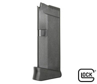 Glock Factory Model 43 Magazine 6 Round 9mm Mag W/Extension (Bulk) (MF08844)