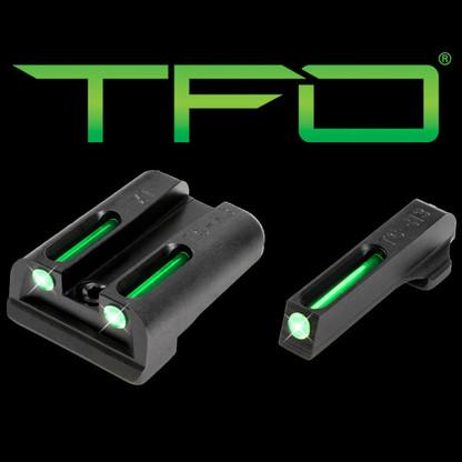 TruGlo Springfield Armory XD/XDS/XDM Tritium Fiber Optic Sight Set TG131XT