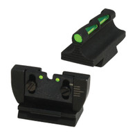 HIVIZ LiteWave Ruger 10/22 Fiber Optic Front/Rear Sight Set (RG1022)