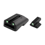 TruGlo 1911 Novak LoMount .260 Front/.450 Rear Tritium Night Sights (TG231N1)