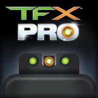 TruGlo TFX PRO Kimber 1911 Tritium Fiber Optic XTREME Sight Set (TG13KM1PC)