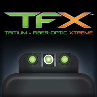 TruGlo TFX XTREME Taurus Millenium/Slim Tritium Fiber Optic Sights (TG13TA2A)