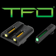 TruGlo Glock Low Set Green Front/Yellow Rear TFO Sight Set (TG131GT1Y)