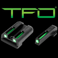 TruGlo TFO Sig Sauer #8 Front/#8 Rear Tritium Fiber Optic Sight Set (TG131ST1)