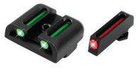 TruGlo Glock 42/43 Fiber Optic Sight Set-Green/Red (TG131G3)