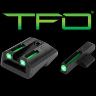 TruGlo 1911 Novak LoMount .270 Front/.450 Rear TFO Sight Set (TG131NT2)