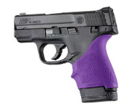 Hogue HANDALL S&W9 M&P Shield/Ruger LC9 Beavertail Grip Sleeve-Purple (18406)