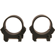 Leupold PRW 30mm Low Height Scope Rings-Matte Black-Steel (170512)